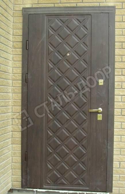 дверь металлическая для дачного домика