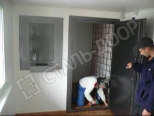 металлическая дверь бронированная для кассы