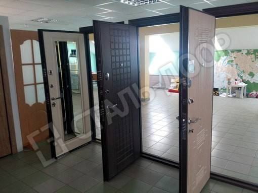 дверь входная для магазина образцы