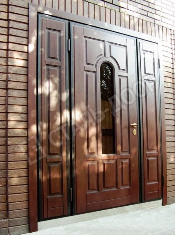 заказать железную дверь с окошком в москве