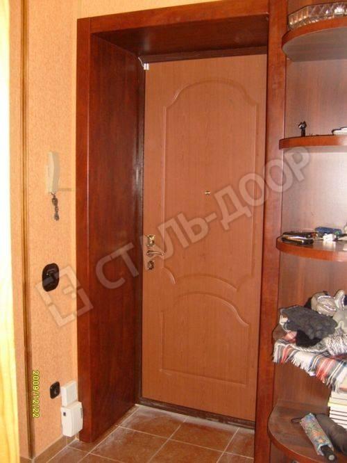 отделка входной двери изнутри монтаж
