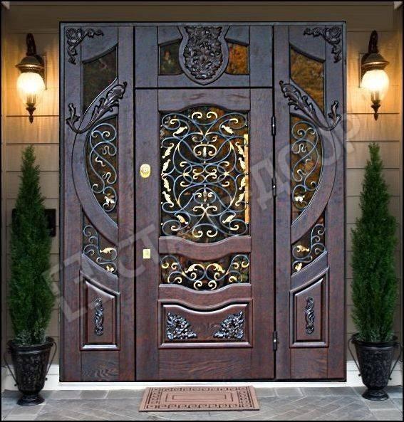 элитные входные металлические уличные двери
