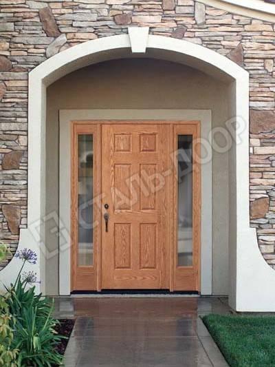 дверь входная коттедж