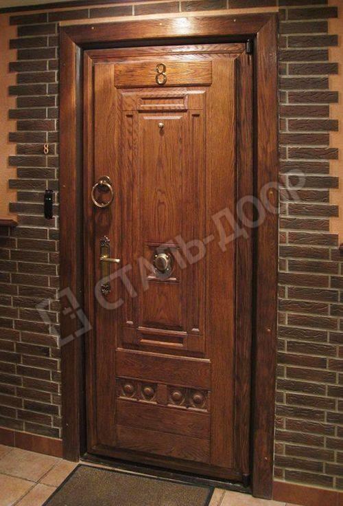 дубовые двери стальные