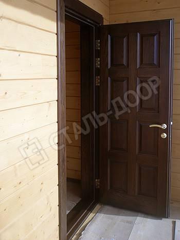 входные двери для загородного дома в щелково