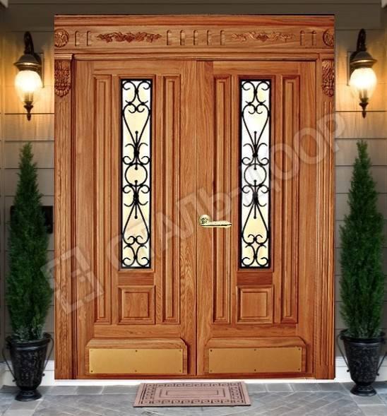 входные двери со стеклом акция