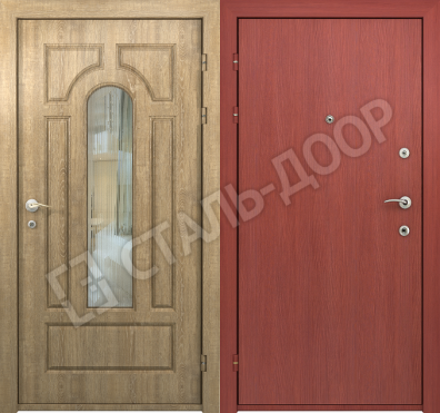 двери стальные в троицке недорого