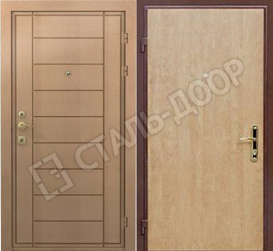 железная дверь 120 на 200