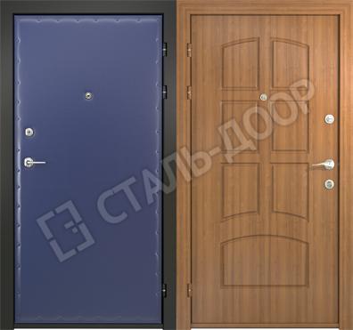 дверь металлическая эконом 86