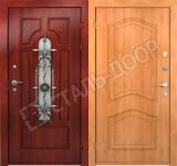 металлические двери с экономкласса
