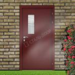 технические металлические уличные двери