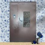 металлические двери подъездные эконом класса