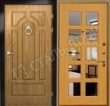наружные стальные двери эконом для дачи