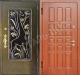 двери уличные входные эконом класса
