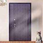 тамбурные металлические двери эконом класса с установкой