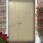 тамбурная дверь металлическая эконом с установкой