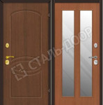 металлические двери с антивандальным покрытием для дачи