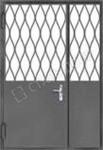 дверь металлическая тамбурная с решеткой москва