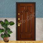 двери входные металлические с филенками каталог