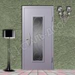 железные двери с зеркалами и ковка