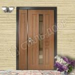 входная дверь со стеклом для тамбура